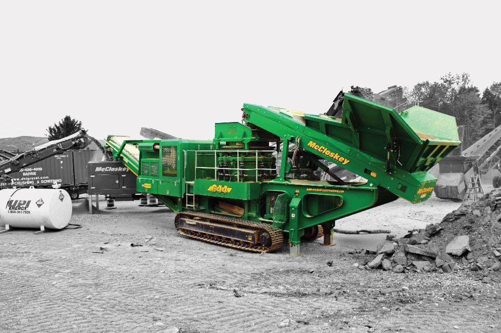 C44 Cone Crusher McCloskey