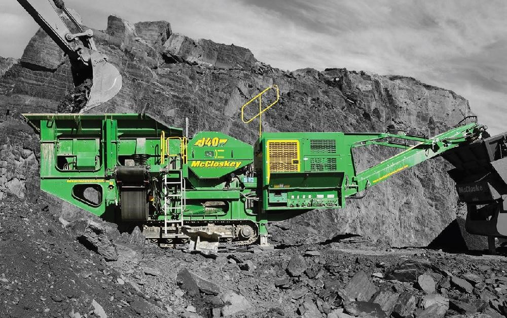 J40 Jaw Crusher McCloskey