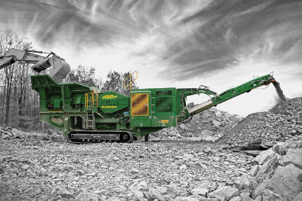 J50 Jaw Crusher McCloskey